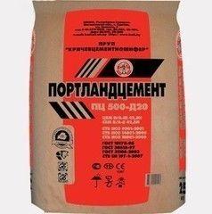 Цемент Кричевцементошифер ПЦ ЦЕМ I 42.5 Н / М500Д20 (50 кг)