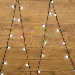 Декоративная светотехника Гирлянда NEON-NIGHT Мультишарики 5м 25 LED белые 303-555
