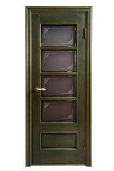 Межкомнатная дверь Раздвижные двери АртСквер Tower (массив ольхи)