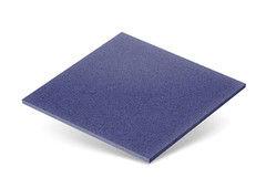 Резиновая плитка Rubtex Плитка 500x500 (толщина 40 мм, синяя)