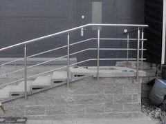 Элементы ограждений и лестниц ИноксСити Пример 4