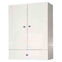 Мебель для ванной комнаты MISTY Шкаф подвесной Лилия 60 с ящиком