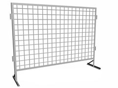Забор Забор БелБиоХаус Временные металлические строительные ограждения на металлических ножках