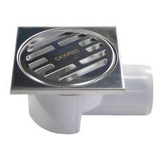 Водоотвод для ванной комнаты Санакс Душевой трап горизонтальный (00013) 100x100