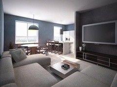 Дизайн гостиной ХоумСистемс Проект 1