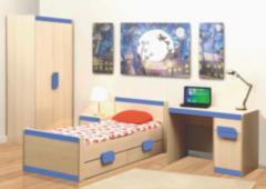 Детская комната Детская комната Олмеко Лайф голубой