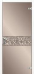 Стеклянная дверь Dariano Имперо (триплекс зеркало бронза)