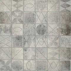 Плитка Плитка Cersanit Bristol Mosaic Grey 42x42
