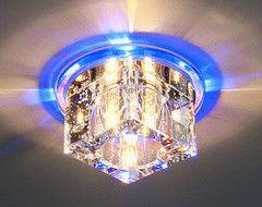 Встраиваемый светильник Elektrostandard N4/S BL (синий)