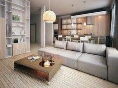Дизайн гостиной ХоумСистемс Проект 7