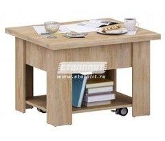Журнальный столик СтолПлит Фокус СБ-2293 (дуб сонома)