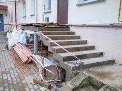 Лестница из бетона Монолит Пример 62