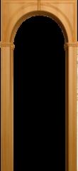 Межкомнатная арка Юркас Палермо Миланский орех