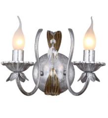 Настенный светильник IDlamp Noel 241/2A-Silvergold