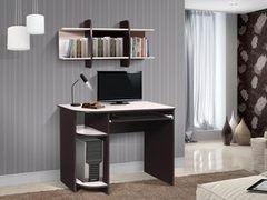 Письменный стол Стол компьютерный Мебель-Класс Компакт МК-8 (венге/дуб шамони)