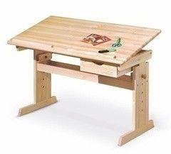 Детский стол Halmar Julia sosna
