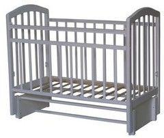 Детская кровать Кроватка Антел Алита-5 (белая)