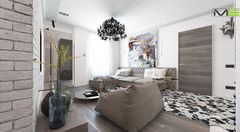 Дизайн квартир и коттеджей Maze Studio Проект 12