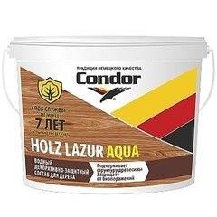 Защитный состав Защитный состав Condor Holz Lazur Aqua 0.9л
