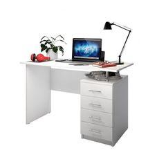 Письменный стол DOMUS SP005 снежно-белый