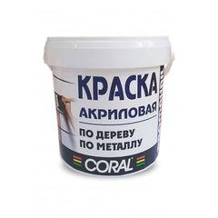 Краска Краска Coral ВД-АК-12 Промакрил-Люкс 0.5л