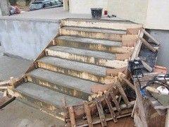 Лестница из бетона Монолит Пример 58