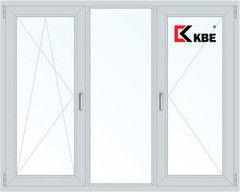 Окно ПВХ Окно ПВХ KBE 2060*1420 1К-СП, 3К-П, П/О+Г+П