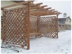 Забор Забор Асвик Забор-решетка мобильный пропитанный защитным составом (пергола)