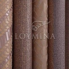 Обои Loymina Коллекция Shelter Copper brown
