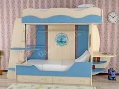 Двухъярусная кровать СлавМебель Кораблик 2