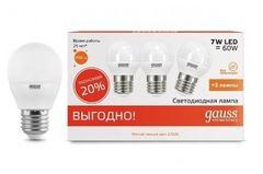 Лампа Лампа Gauss 53216T, E27, G45, 6Вт