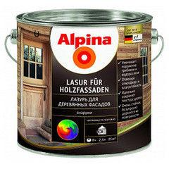 Защитный состав Защитный состав Alpina Lasur fuer Holz (Цветная) 2.5 л