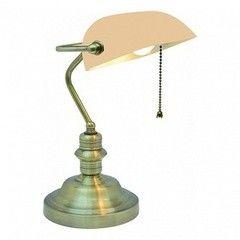 Настольный светильник Arte Lamp Banker A2493LT-1AB