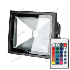 Прожектор Прожектор Arlight AR-FLB-30W-220V RGB (IR ПДУ Карта 24кн)
