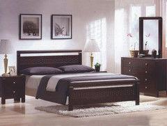 Кровать Кровать Домовой 1.6-REDANG-SW-WSR-BW