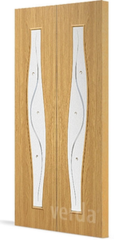 Межкомнатная дверь Межкомнатная дверь VERDA С-10 ДО (складная)