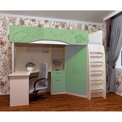 Двухъярусная кровать Нарус Русалочка