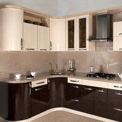 Кухня Кухня AA-Glass Пример 20 (пластик)