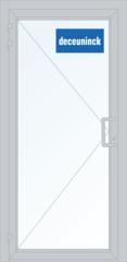 Дверь ПВХ Дверь ПВХ Deceuninck Фаворит Спэйс 900*2100 2К-СП одностворчатая Модель 7