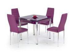 Обеденный стол Обеденный стол Halmar Kent (фиолетовый)