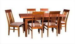Обеденный стол Обеденный стол Гомельдрев Престиж ГМ 6063 (ясень Р43)