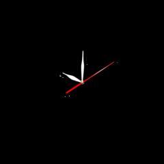 Часы Часы Карандаш Цветок 06470