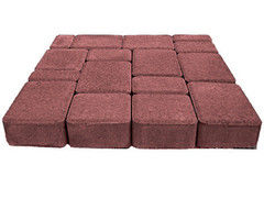 Тротуарная плитка Тротуарная плитка Завод тротуарной плитки Старый город 120*90,120,180*60 (красный)