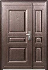 Входная дверь Металлические входные двери Kaiser К 700 двустворчатая