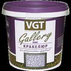 Лак Лак ВГТ Кракелюр Gallery для декоративных  эффектов, 0.2 кг
