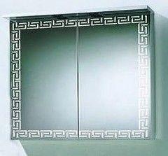 Мебель для ванной комнаты Акваль Зеркало-шкаф Паола 80 белый