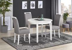 Обеденный стол Обеденный стол Halmar Sorbus (белый)