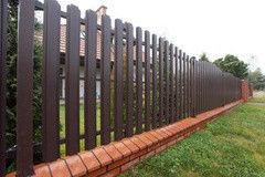 Забор Забор Изомат-Строй Штакетные ограждения из металла 3