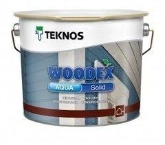 Защитный состав Антисептик для древесины Teknos Woodex Aqua Solid (2.7 л)