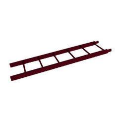 Элемент безопасности кровли Скайпрофиль Лестница кровельная 1.86 м RAL3005